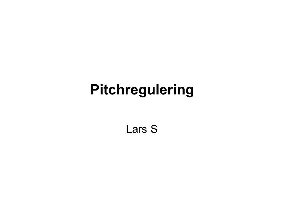 Pitchregulering Lars S