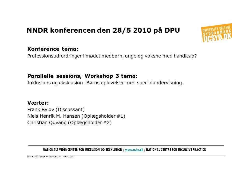 University College Syddanmark, 27.