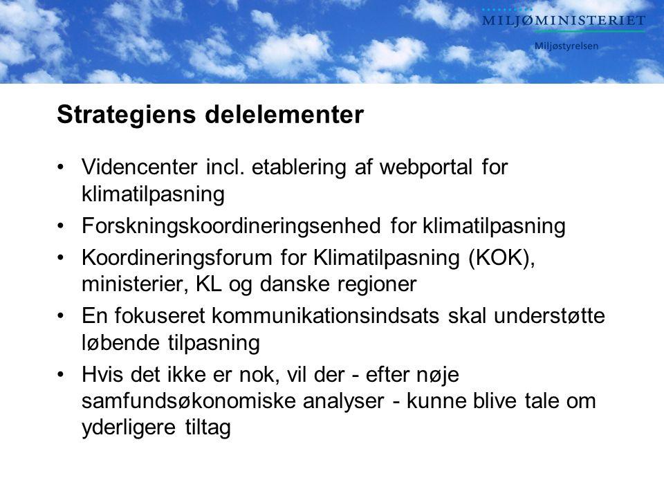 Strategiens delelementer Videncenter incl.