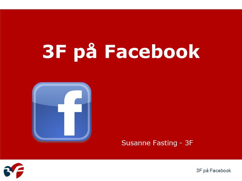 3F på Facebook Susanne Fasting - 3F