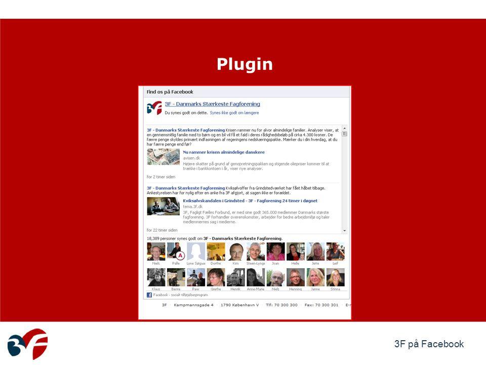 3F på Facebook Plugin