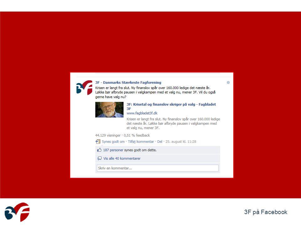 3F på Facebook