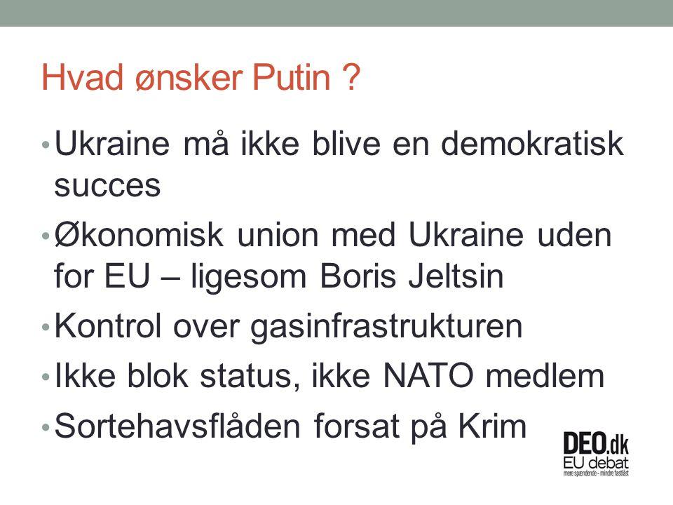 Hvad ønsker Putin .