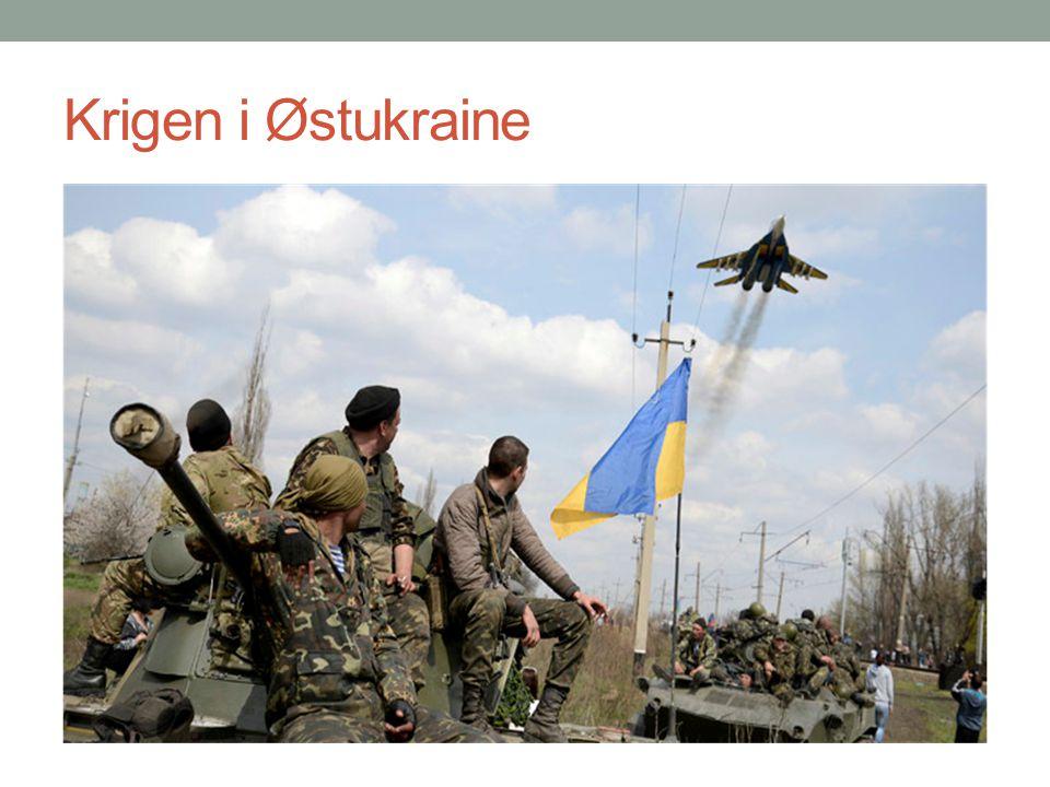 Krigen i Østukraine