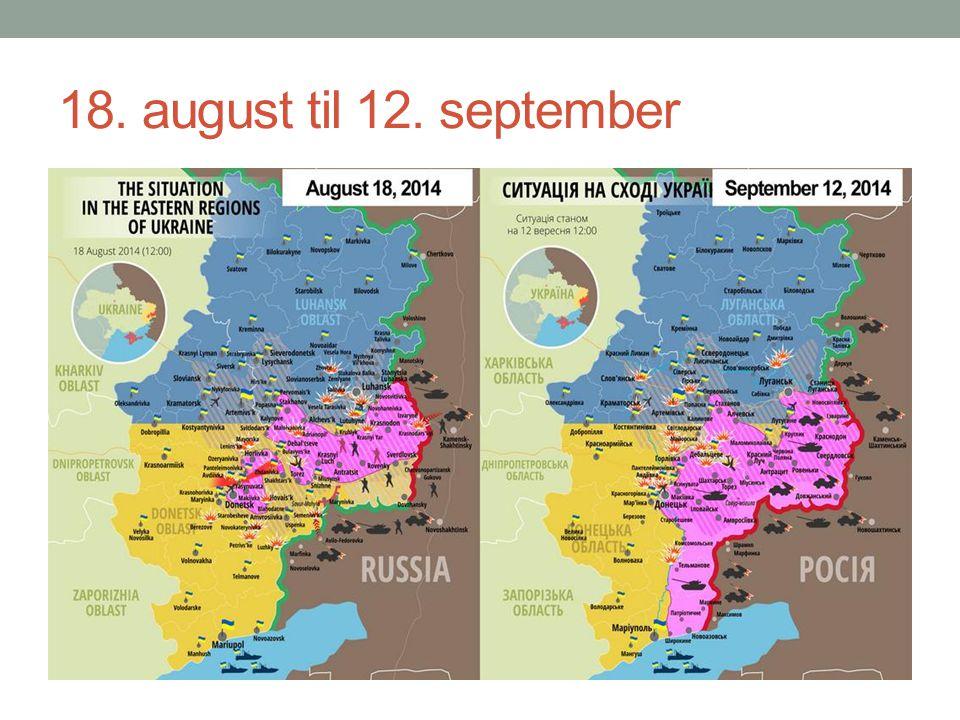18. august til 12. september