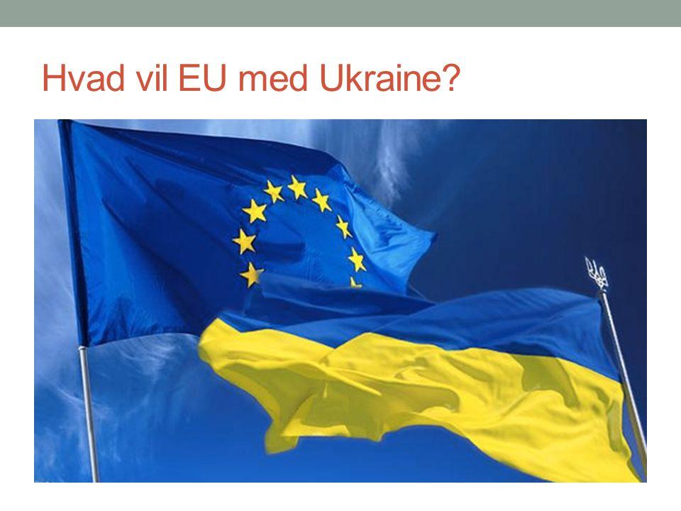 Hvad vil EU med Ukraine