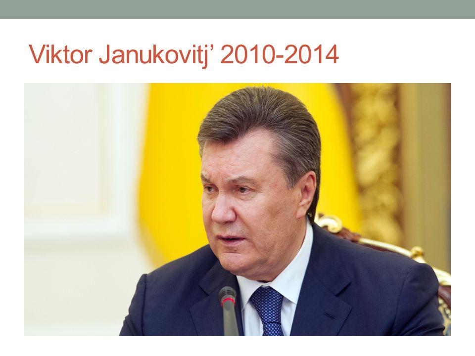 Viktor Janukovitj' 2010-2014