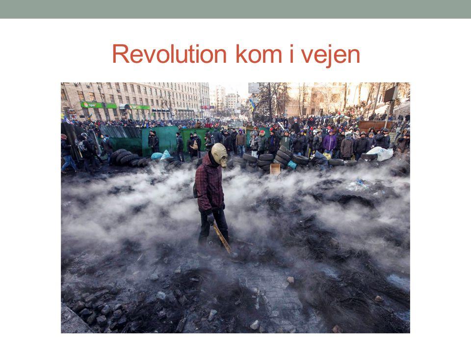 Revolution kom i vejen