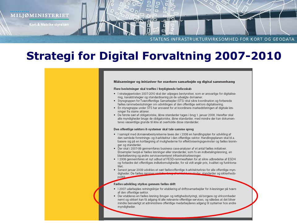 Strategi for Digital Forvaltning 2007-2010