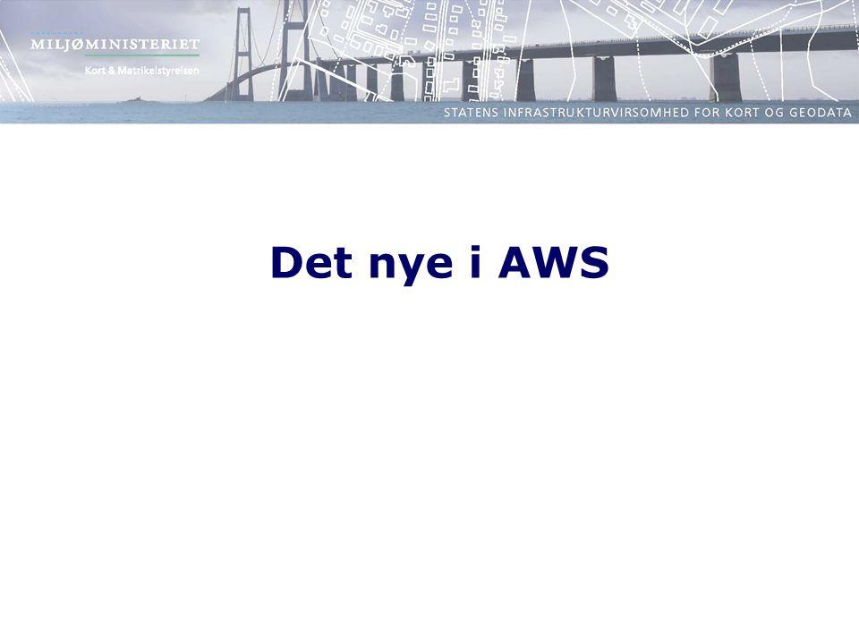 Det nye i AWS