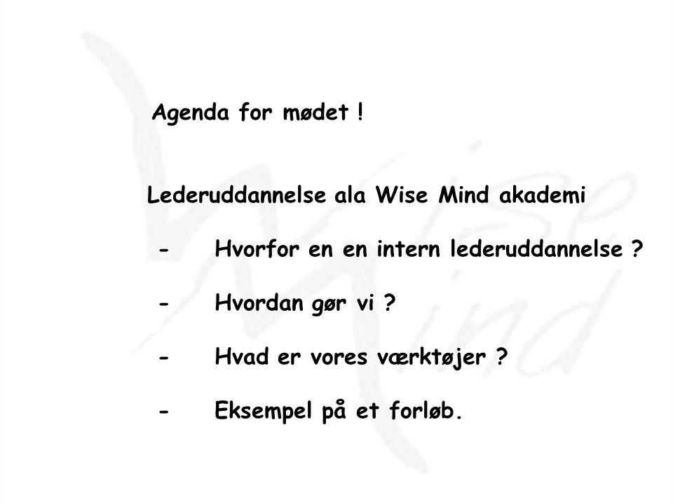 www.wisemind.dksparre@wisemind.dkTlf.