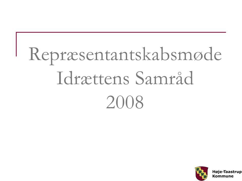 Repræsentantskabsmøde Idrættens Samråd 2008