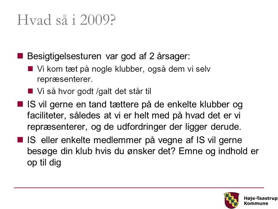 Hvad så i 2009.