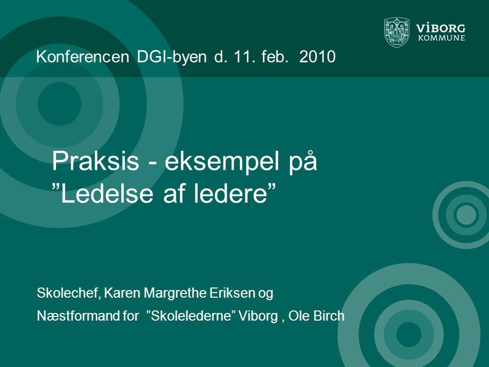 Konferencen DGI-byen d. 11. feb.