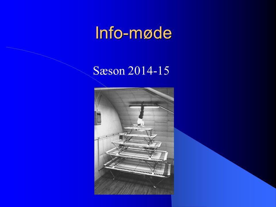 Info-møde Sæson 2014-15