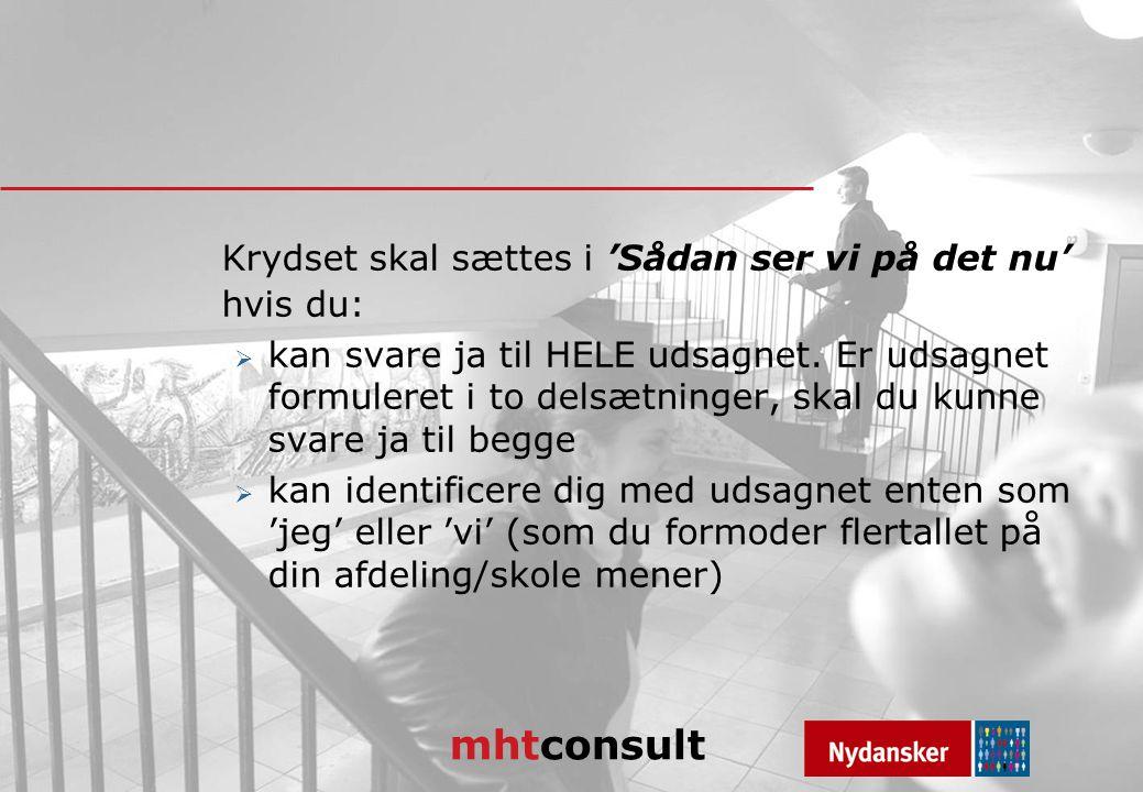 mhtconsult Krydset skal sættes i 'Sådan ser vi på det nu' hvis du:  kan svare ja til HELE udsagnet.