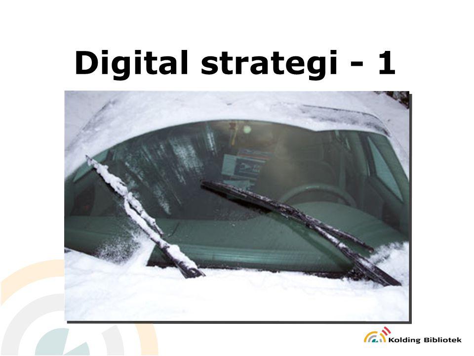 Digital strategi - 1