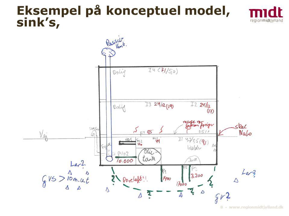 8 ▪ www.regionmidtjylland.dk Eksempel på konceptuel model, sink's,