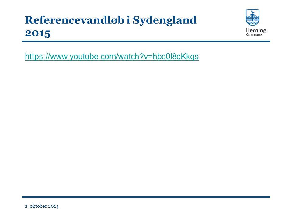Referencevandløb i Sydengland 2015 https://www.youtube.com/watch v=hbc0l8cKkqs 2. oktober 2014