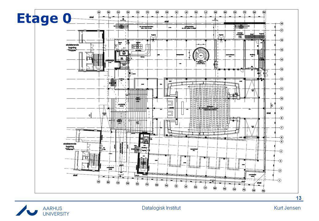 Kurt Jensen 13 Datalogisk Institut Etage 0