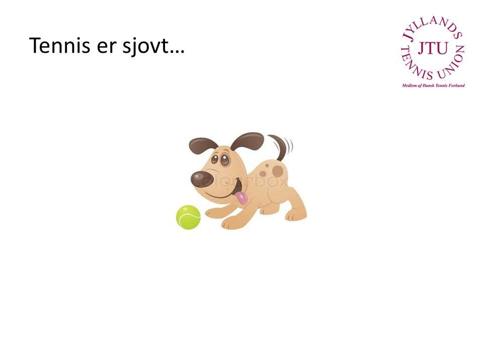 Tennis er sjovt…