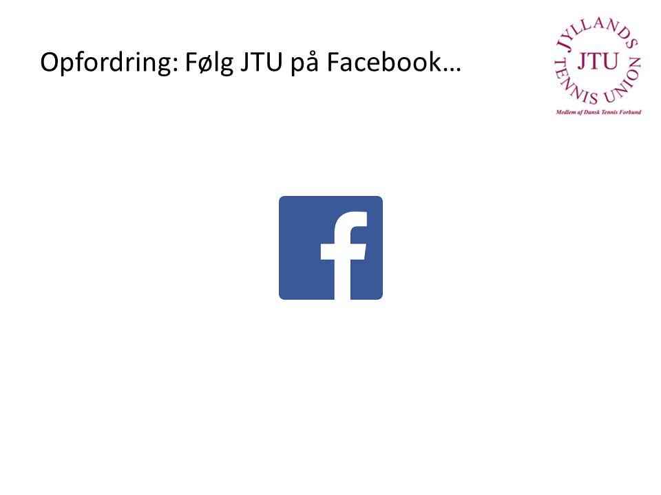 Opfordring: Følg JTU på Facebook…