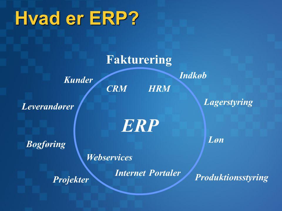 Hvad er ERP.