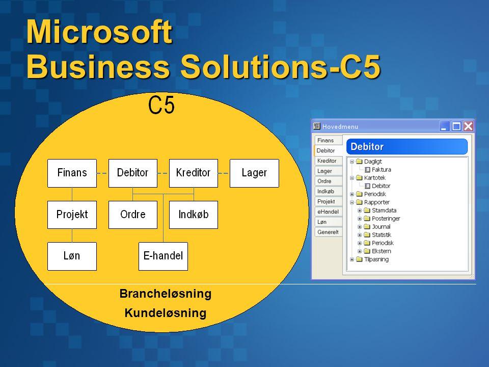 Microsoft Business Solutions-C5 Brancheløsning Kundeløsning