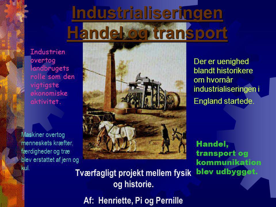 Tværfagligt projekt mellem fysik og historie.
