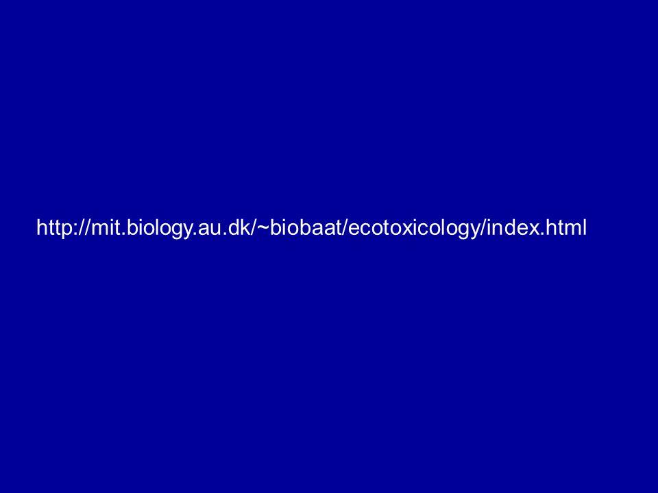 http://mit.biology.au.dk/~biobaat/ecotoxicology/index.html