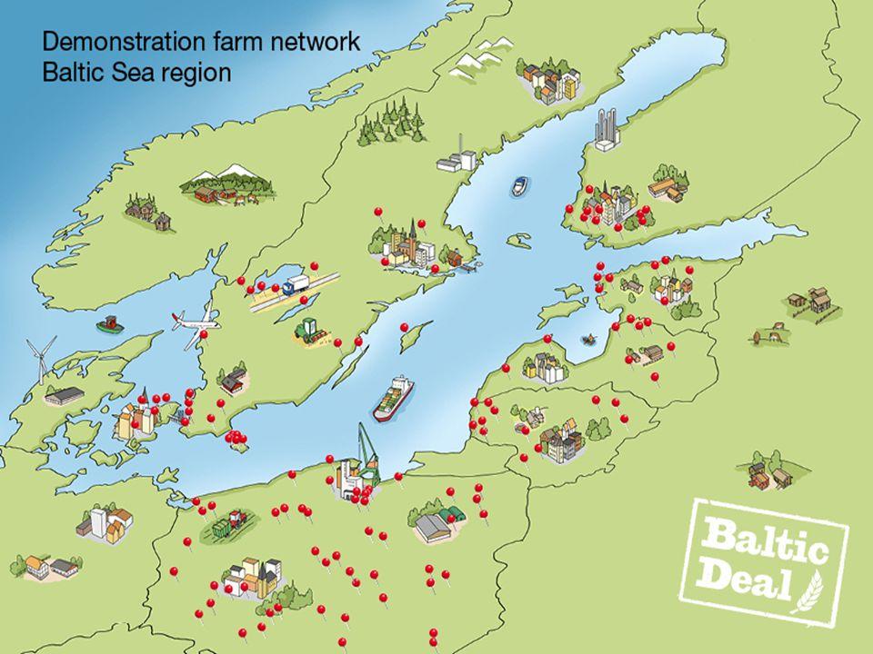 Østersøen Oplandet til Østersøen er på 1,700,000 km2. Befolkning på 85 millioner.
