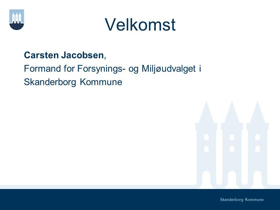 Skanderborg Kommune Dialogmøde Det Grønne Råd & Forsynings- og Miljøudvalget M andag den 20.