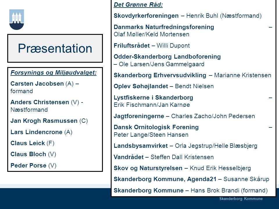 Skanderborg Kommune Velkomst Carsten Jacobsen, Formand for Forsynings- og Miljøudvalget i Skanderborg Kommune