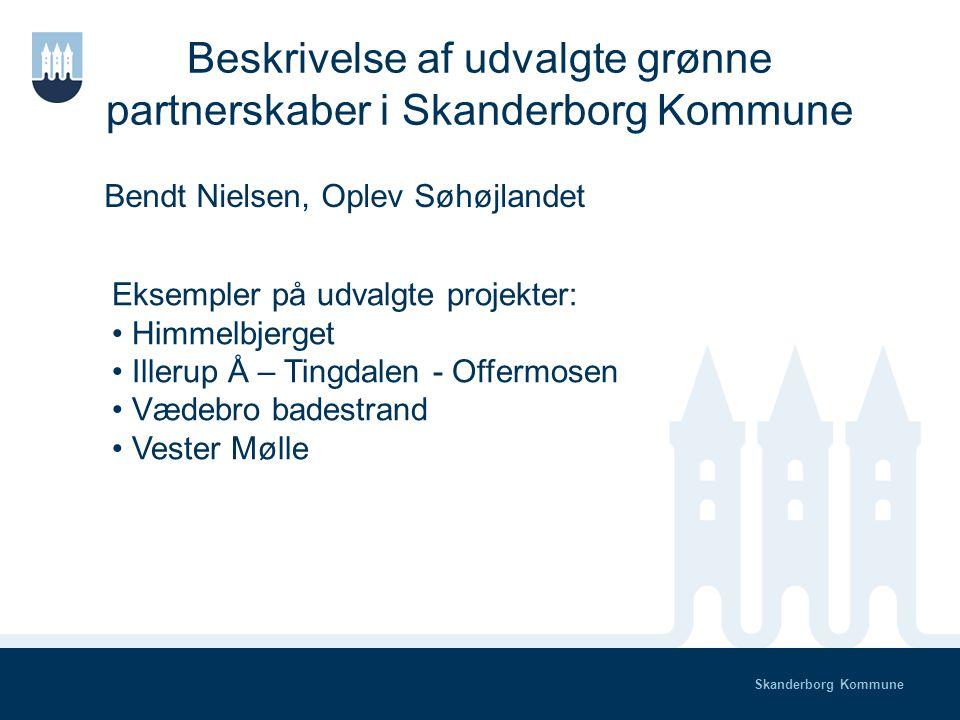 Skanderborg Kommune Status på grønne partnerskaber Hvad er et grønt partnerskab.