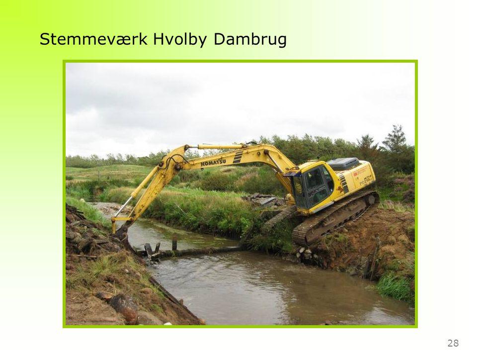 28 Stemmeværk Hvolby Dambrug