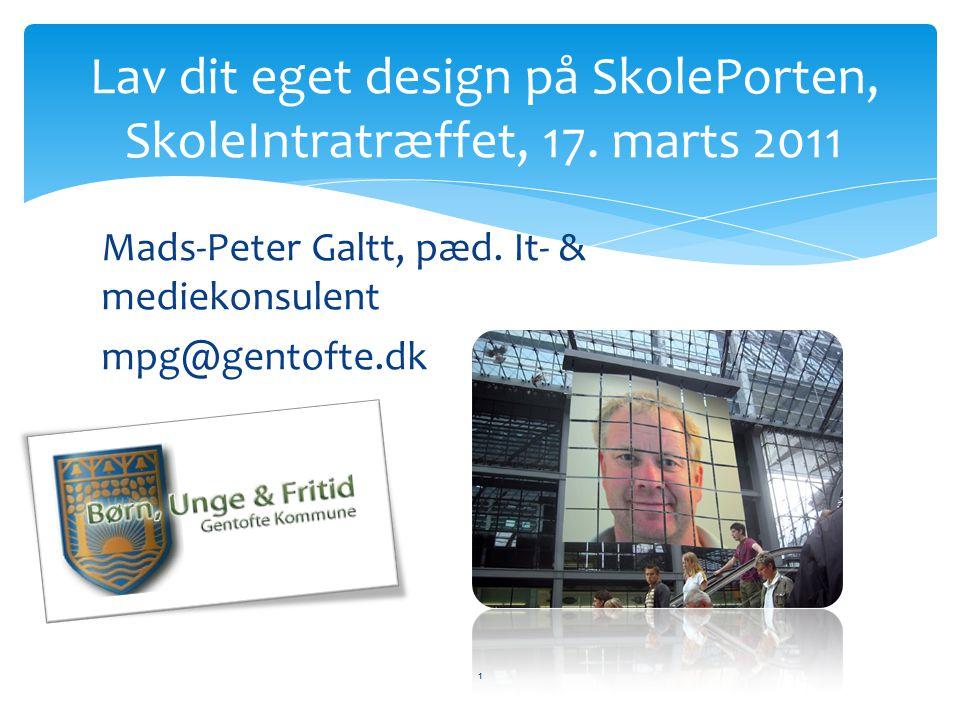 Mads-Peter Galtt, pæd.