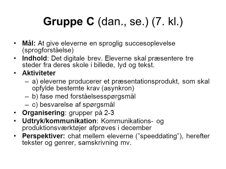 Gruppe C (dan., se.) (7.