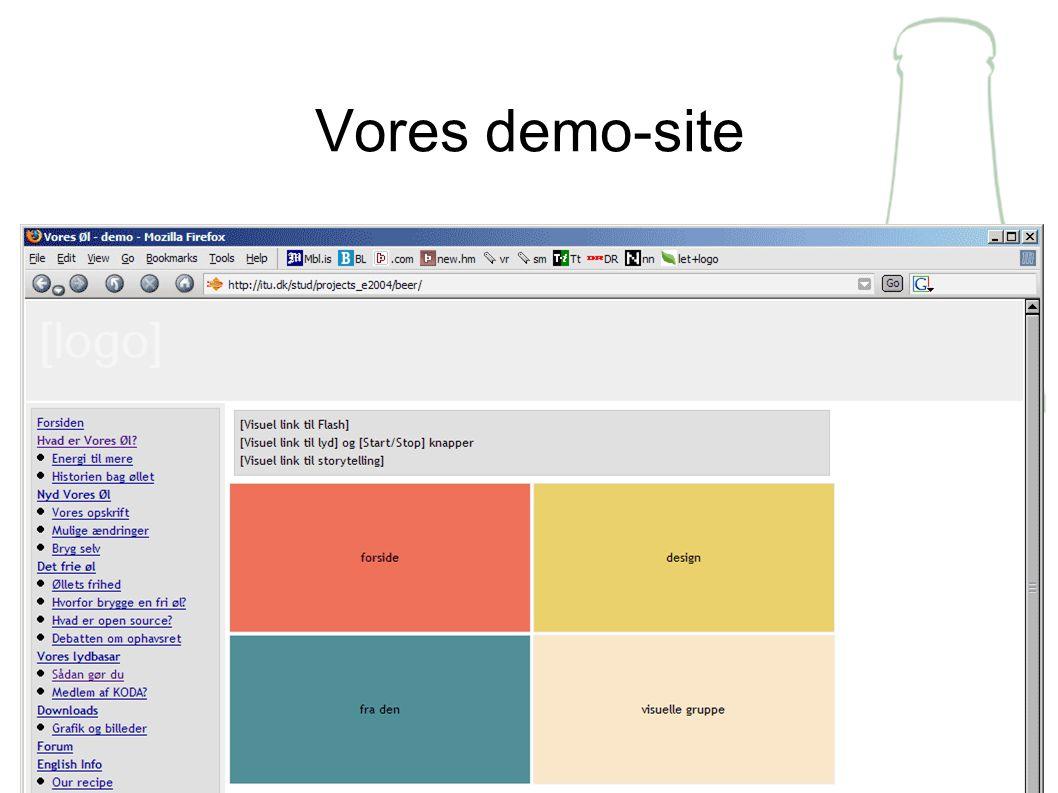 Vores demo-site