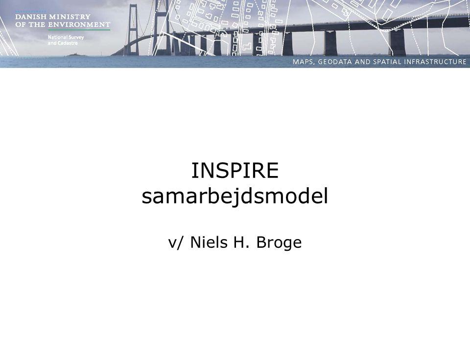 INSPIRE samarbejdsmodel v/ Niels H. Broge