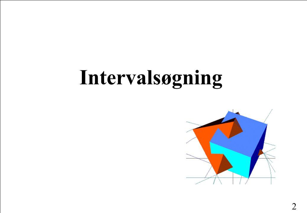 2 Intervalsøgning