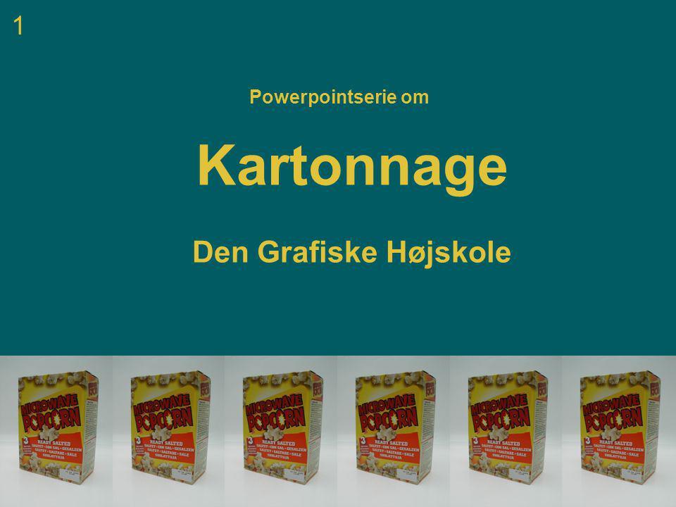 1 Powerpointserie om Kartonnage Den Grafiske Højskole