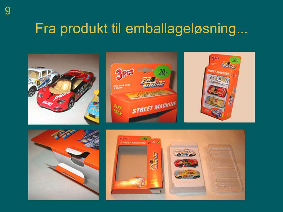 9 Fra produkt til emballageløsning...