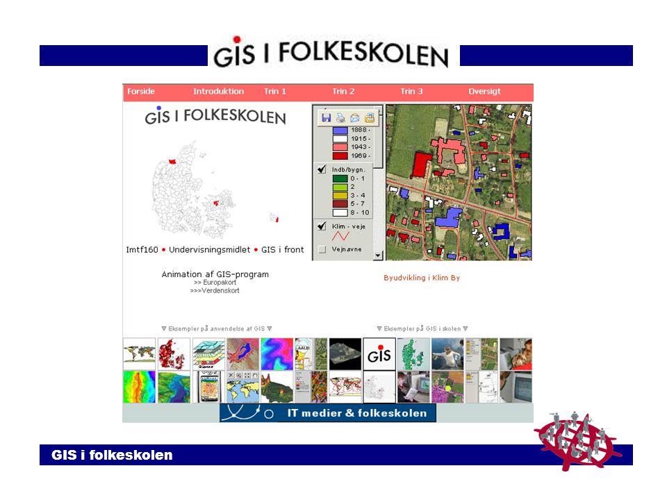 GIS i folkeskolen
