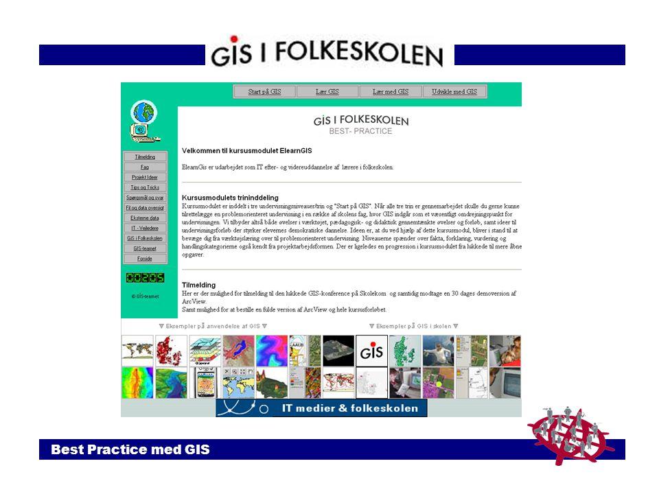 Best Practice med GIS