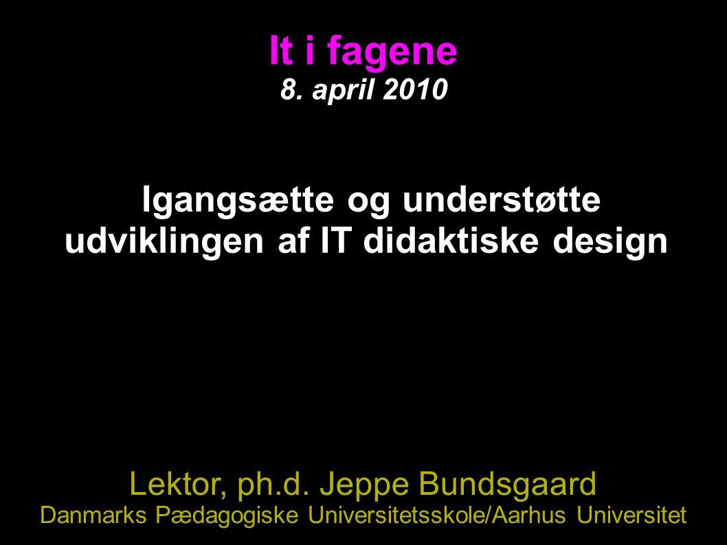 It i fagene 8.
