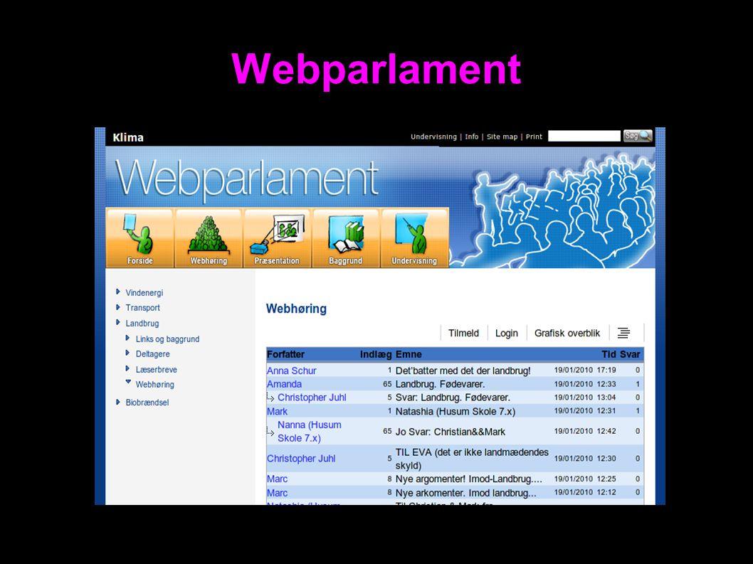 Webparlament