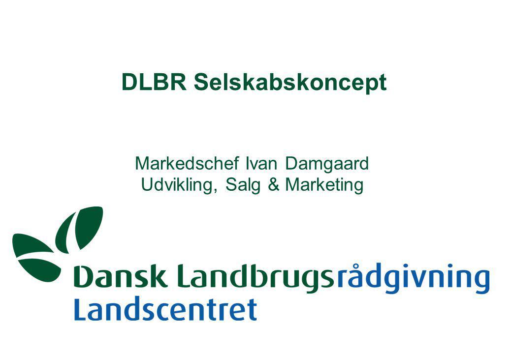 DLBR Selskabskoncept Markedschef Ivan Damgaard Udvikling, Salg & Marketing