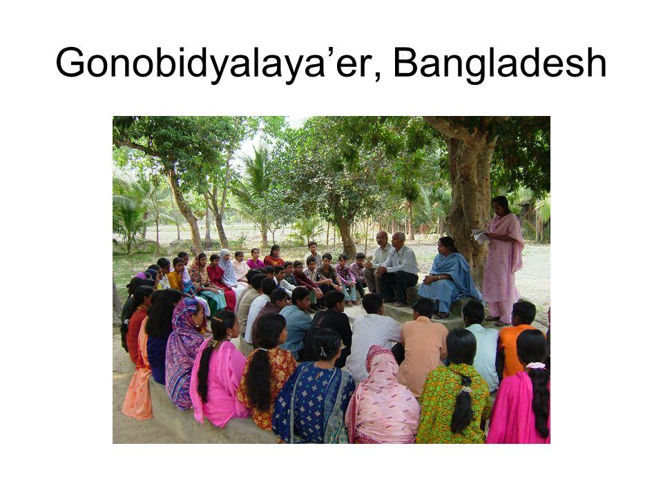 Gonobidyalaya'er, Bangladesh