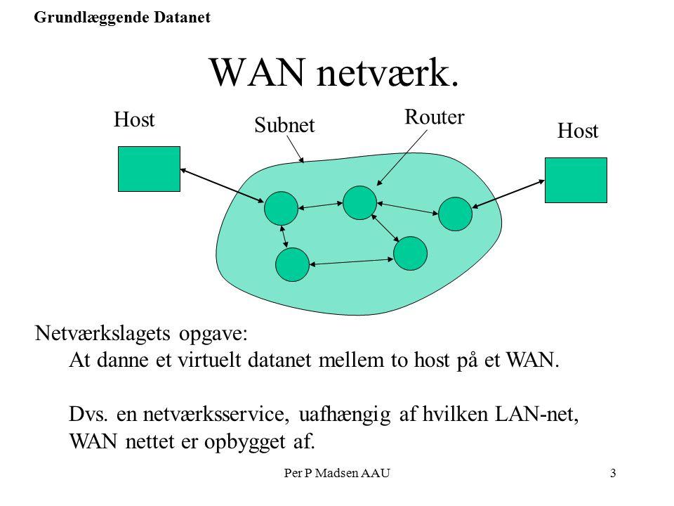 Per P Madsen AAU3 Grundlæggende Datanet WAN netværk.