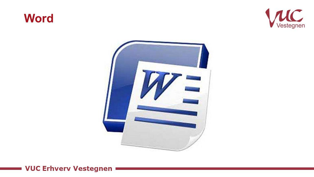 VUC Erhverv Vestegnen Word